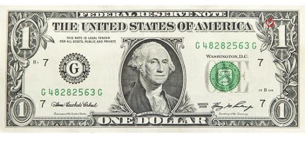 những bí ẩn thú vị trên tờ 1 USD