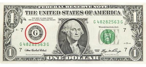 Những chi tiết thú vị in trên tờ 1 đô la Mỹ